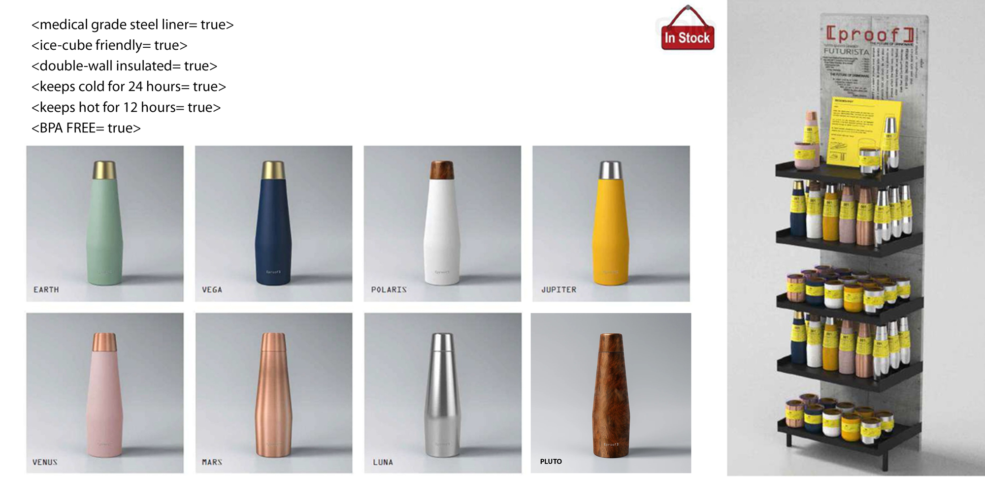 INSULATED PROOF BOTTLE 1