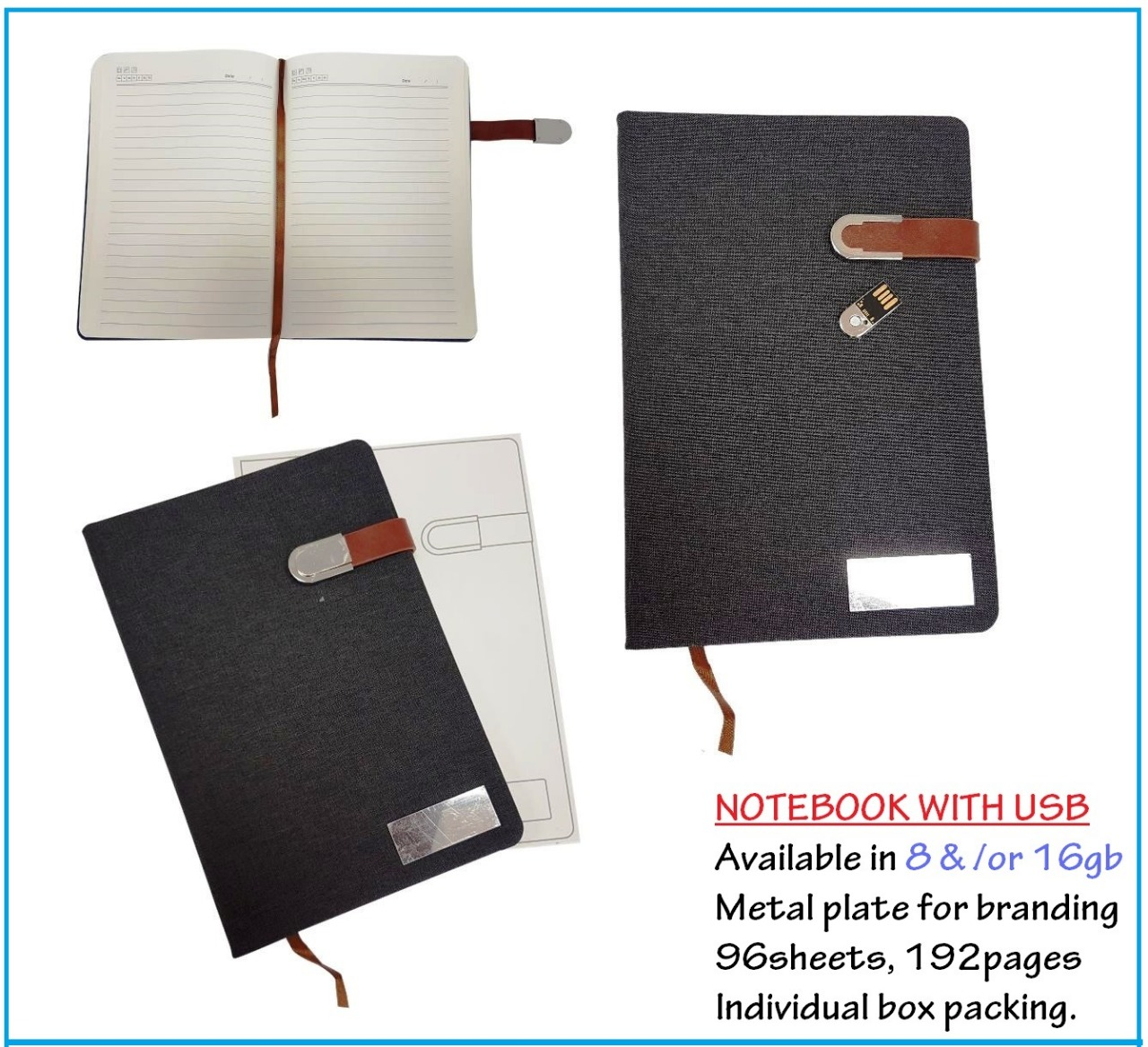 notebookwith usb