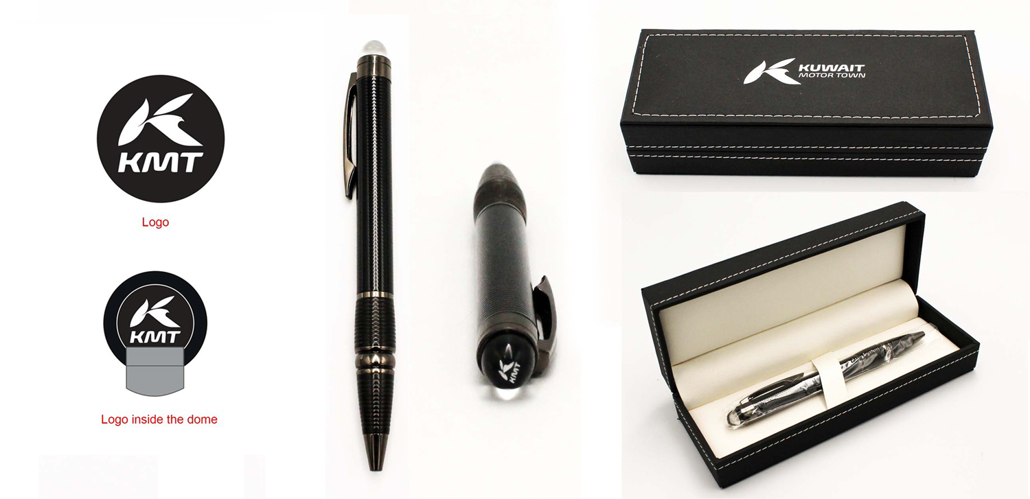 Ball pen with Dome print