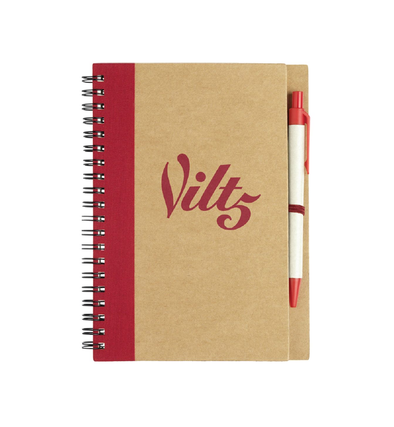 RECYCLED NOTEBOOK WITH PEN 1