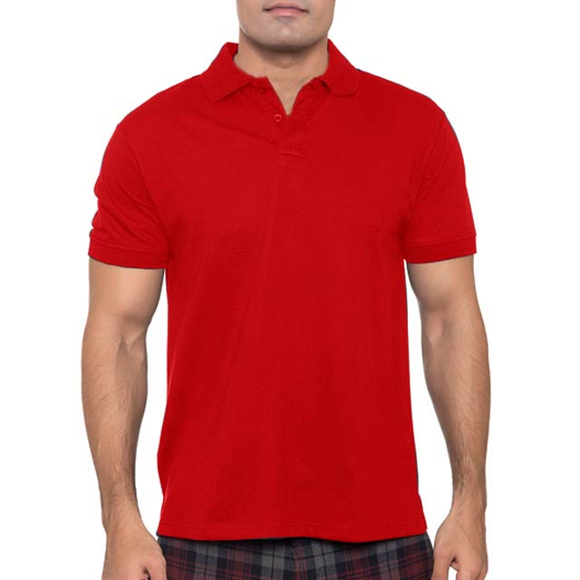 BDNC Red Small BDNC SANTHOME Polo Shirt with UV protection Small Red