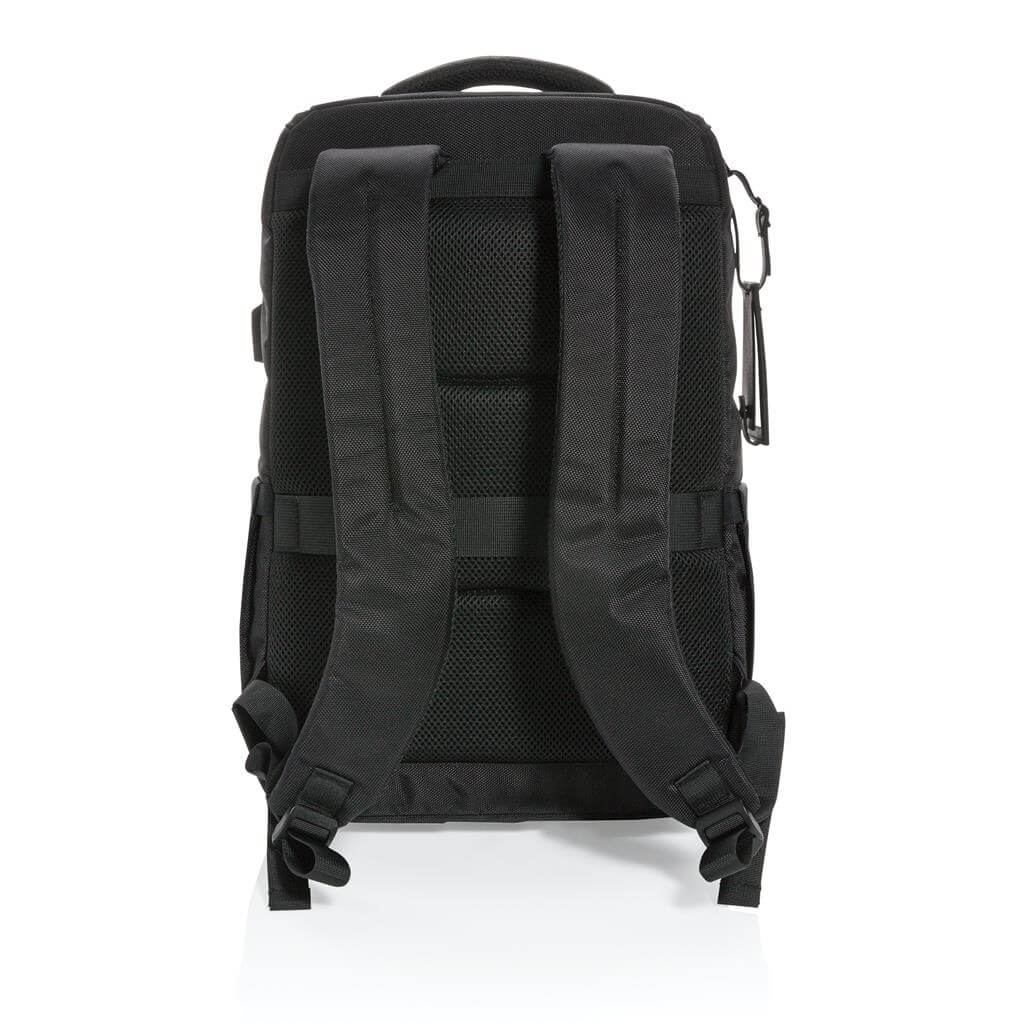 CASTILE UV C Sterilization Backpack in Anti microbial RPET Fabric 2