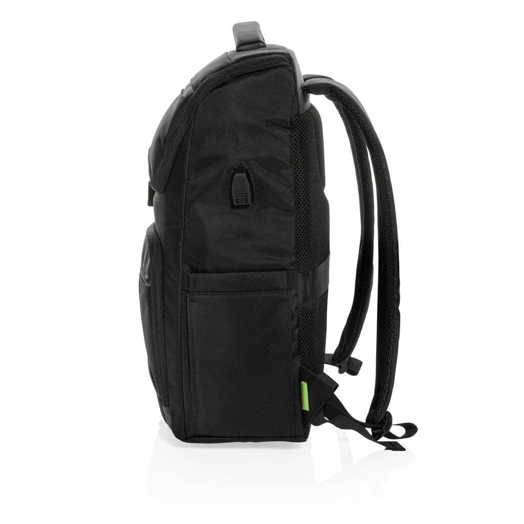 CASTILE UV C Sterilization Backpack in Anti microbial RPET Fabric 3