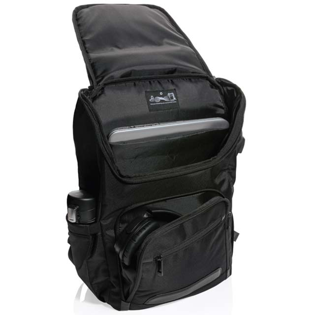CASTILE UV C Sterilization Backpack in Anti microbial RPET Fabric