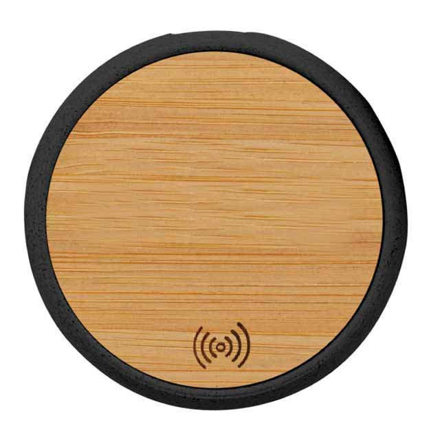 ITWC 241 POLIS @memorii Bamboo Wireless Charger Anti microbial