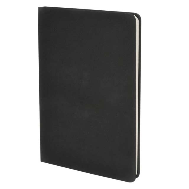 ORSHA SANTHOME A5 Sustainable Eco Friendly Notebook Black Anti Microbial 2