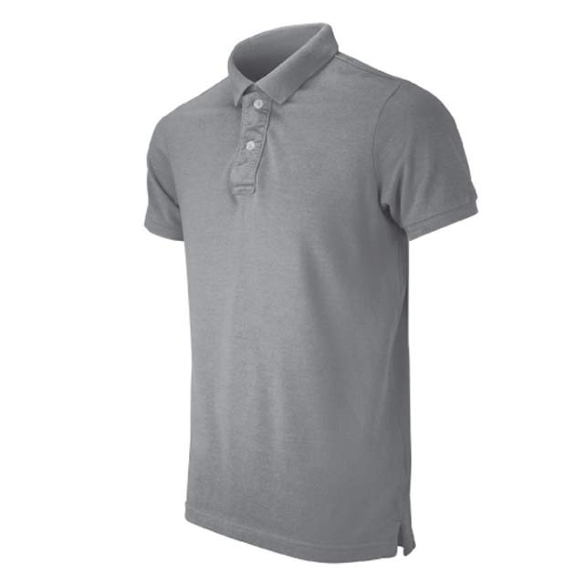 SECURE Grey Melange Small SANTHOME SECURE Polo Shirt Anti microbial Small Grey Melange