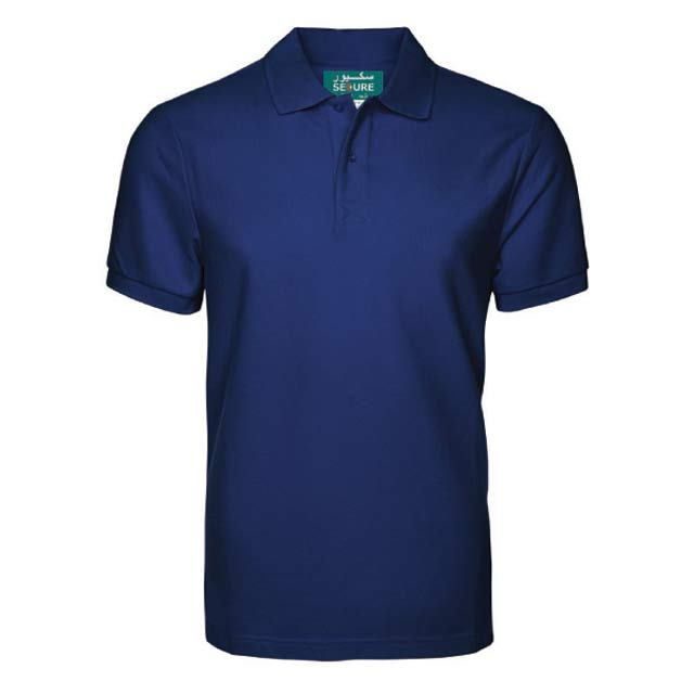SECURE Navy Blue Small SANTHOME SECURE Polo Shirt Anti microbial Small Navy Blue